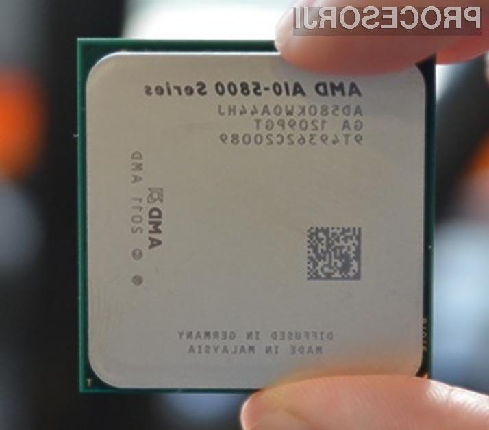 Procesor AMD A10-5800K naj bi bil za nameček še odličen »navijalec«.