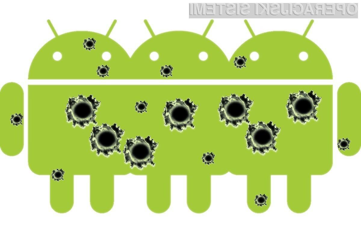 Operacijski sistem Android se je soočil še z eno veliko varnostno napako.