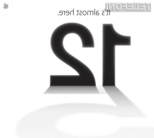 Pametni mobilni telefon iPhone 5 bo po vsej verjetnosti osrednja zvezda prireditve!