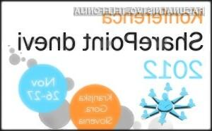 Kompas Xnet 26. in 27. novembra v Kranjski Gori organizira že 3. konferenco SharePoint dnevi, ki je edina specializirana konferenca na temo Microsoftove tehnologije SharePoint v Sloveniji.