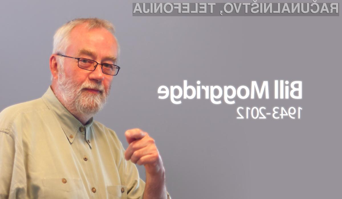 Bill Moggridge je oblikoval prvi prenosnik na svetu.