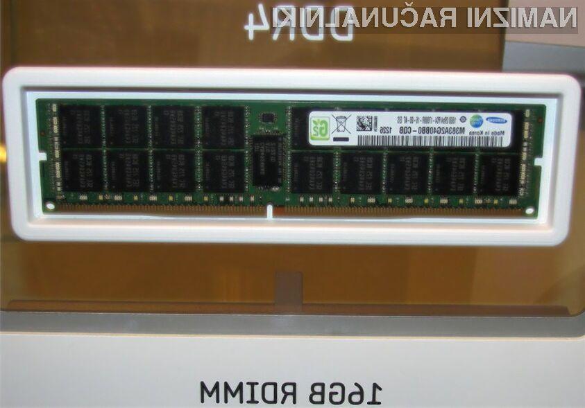Prve komercialne DDR4 ploščice lahko pričakujemo v letu 2014.