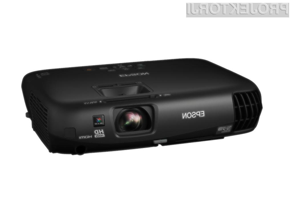 Epsonov EH-TW550 se lahko pohvali s 3LCD tehnologijo in izjemno kakovostjo prikaza barv.