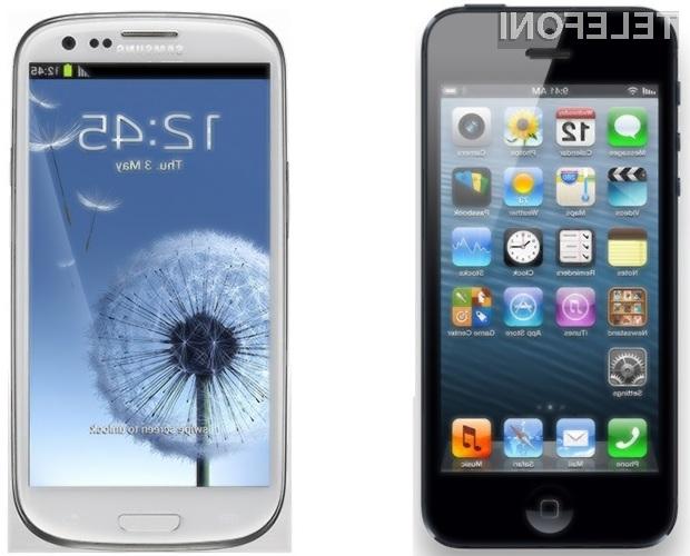 Samsung Galaxy S3 ali Apple iPhone 5?