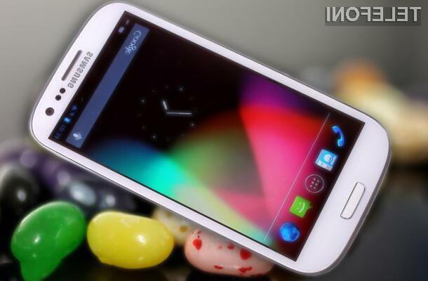 Bo posodobitve na  Android 4.1. Jelly Bean deležna tudi vaša mobilna naprava Samsung?