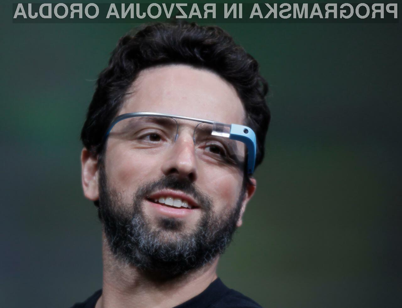 Googlova očala so za enkrat še daleč od načrtovanega.