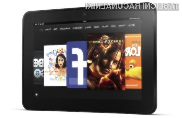 Tablica Kindle Fire HD naj bi šla v prodajo kot za stavo!