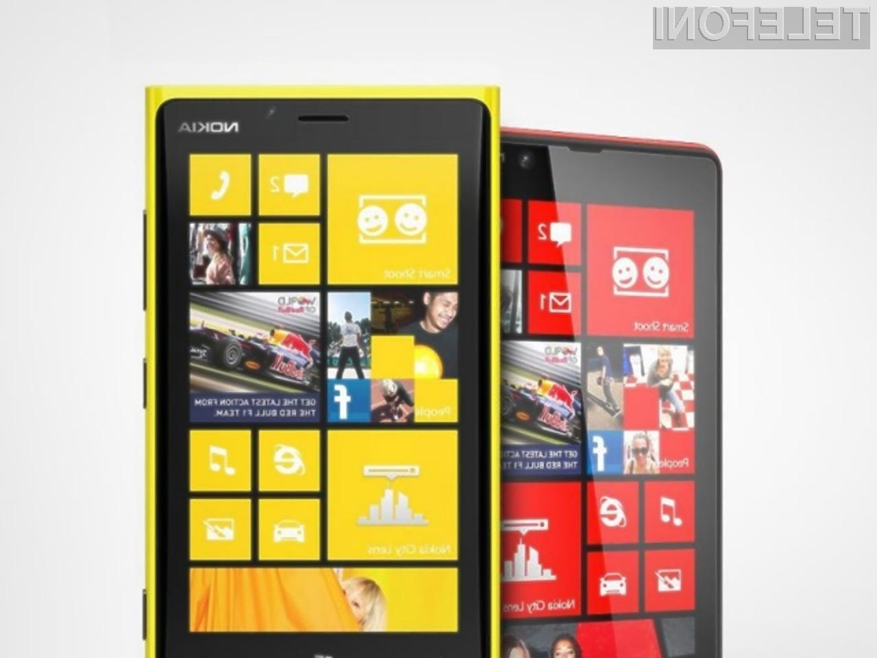 Vas je Nokia z mobilnikoma Lumia 920 in Lumia 820 prepričala?