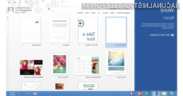 Bo Microsoft z mobilnim pisarniškim paketom Office Home & Student 2013 RT osvojil trg tabličnih računalnikov?