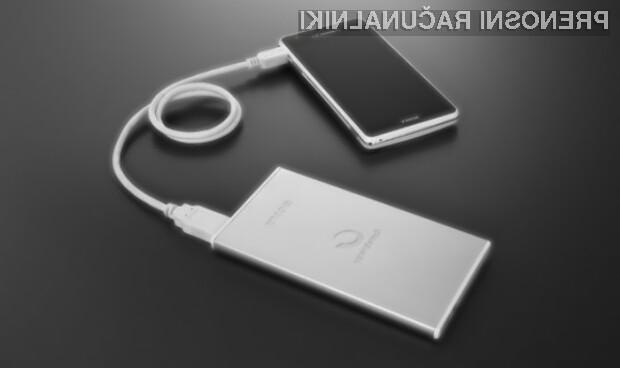 Zunanja baterija podjetja Sony nam bo zagotovo prišla večkrat v poštev!