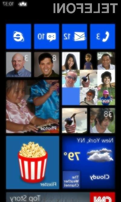 Windows Phone 8 vsaj na prvi pogled izgleda povsem soliden mobilni operacijski sistem!