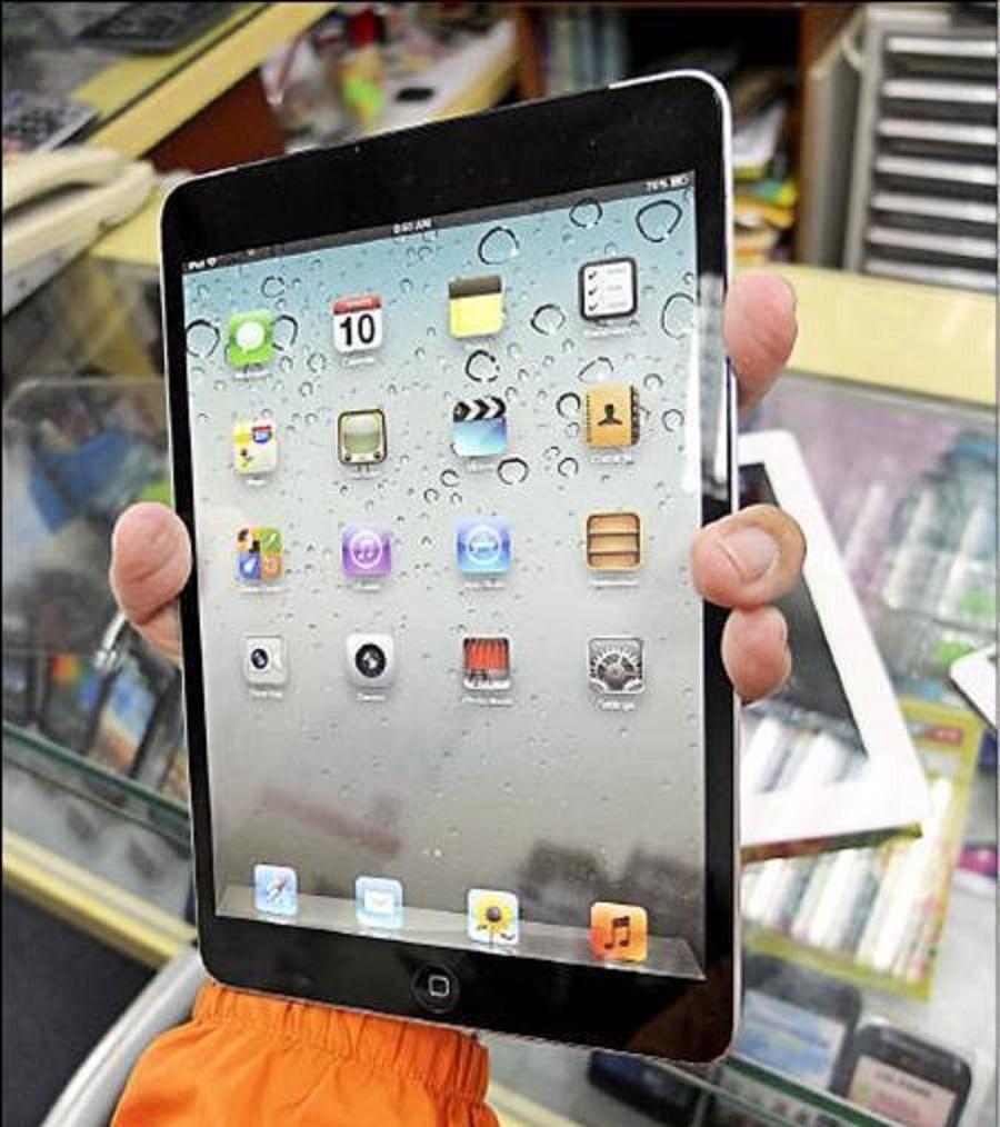 Miniaturi tablični računalnik iPad Mini naj bi za povezovanje v mobilna omrežja 3G koristil Nano-SIM kartico.