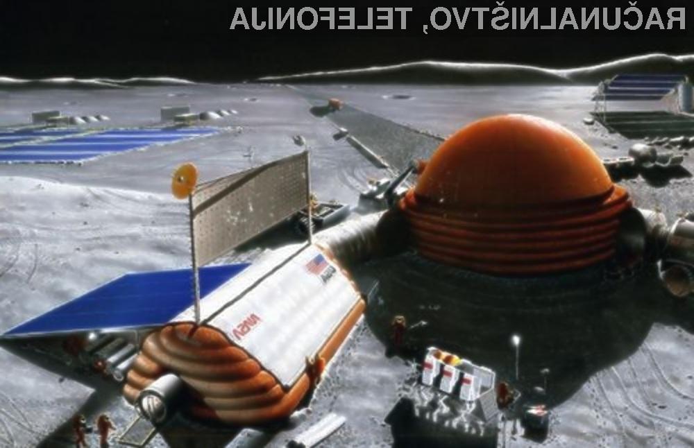 Nasa verjame, da lahko že danes na Luni postavi superračunalnik z miniaturnim jedrskim reaktorjem.