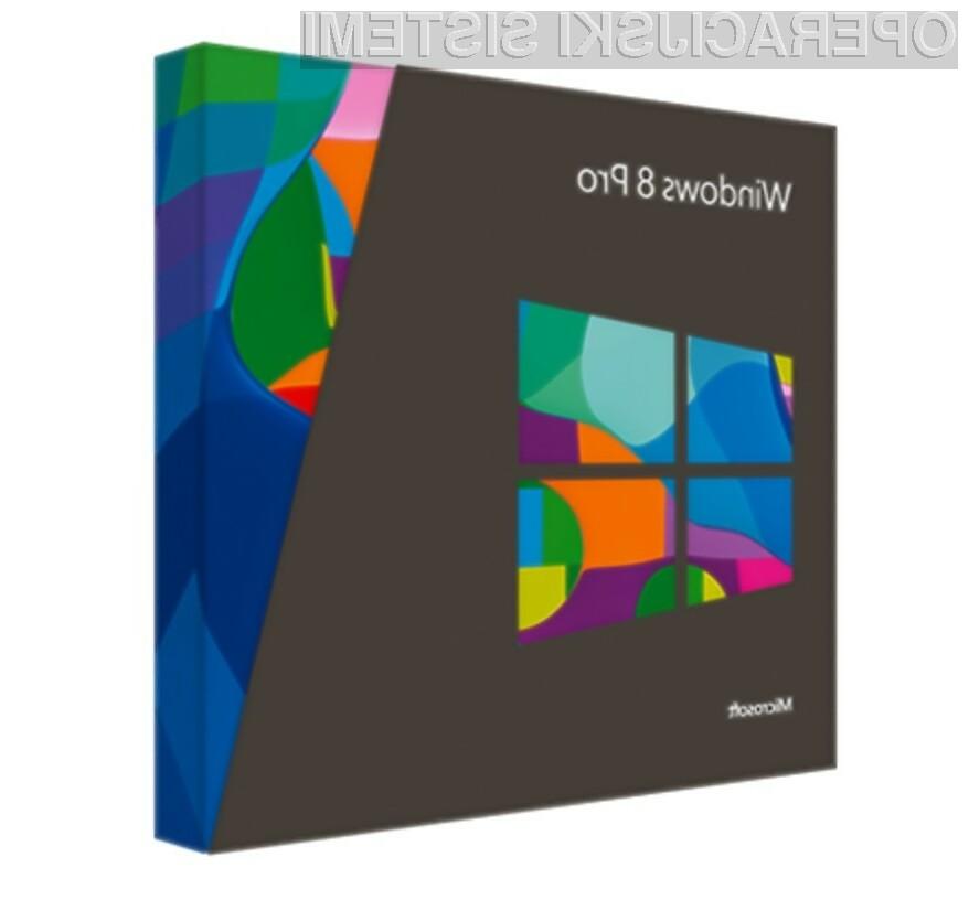 Microsoft Windows 8: Operacijski sistem, ki nam bo spremenil življenje