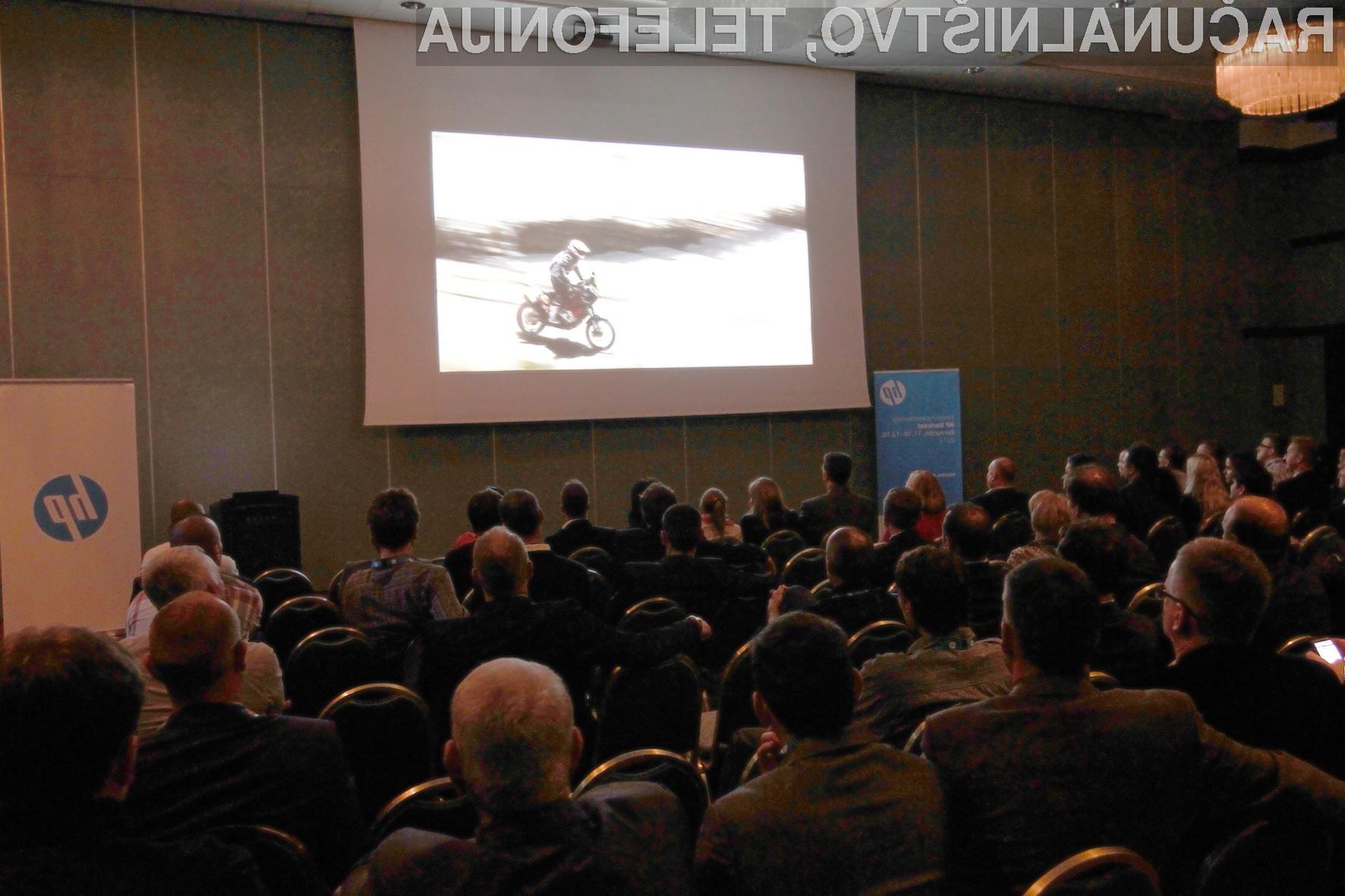 Dogajanje na konferenci HP Horizont