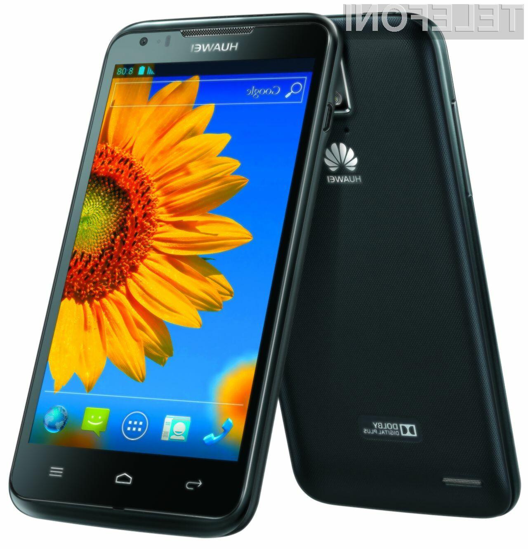 Huawei Ascend D1 Quad XL bo kmalu na voljo tudi v Sloveniji.