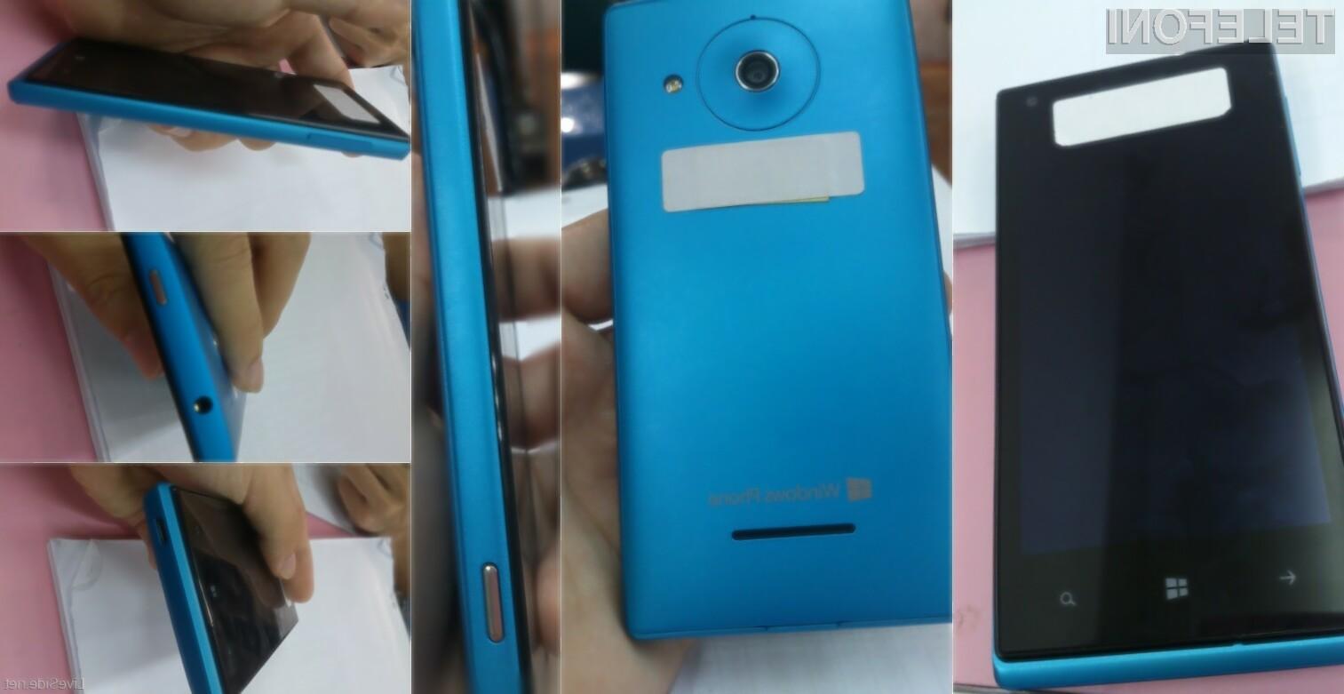 Ascend W1 pa bo na prvi pogled precej podoben Nokijini družini mobilnikov Lumia.