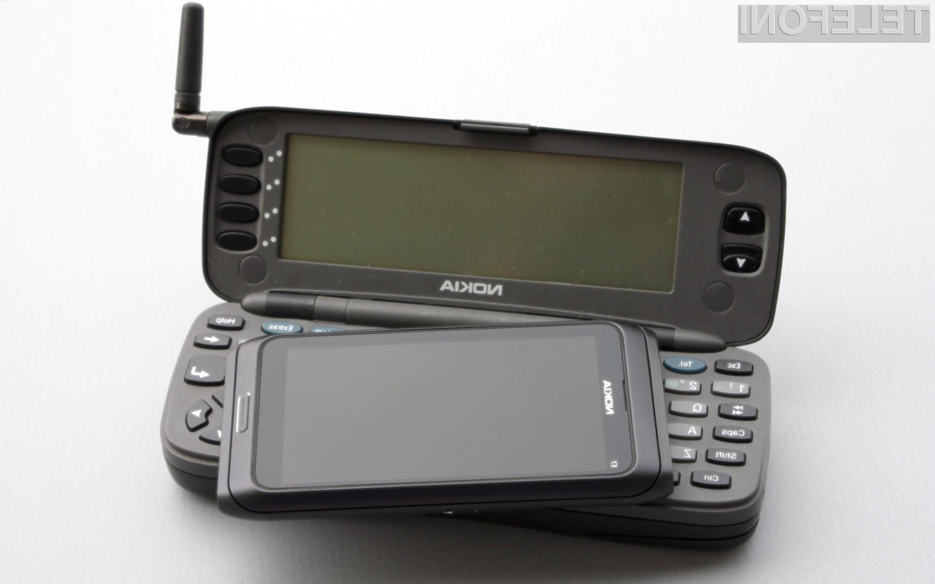 Nokia 9000 Communicator je bil prvi pametni mobilni telefon, namenjen običajnim uporabnikom.