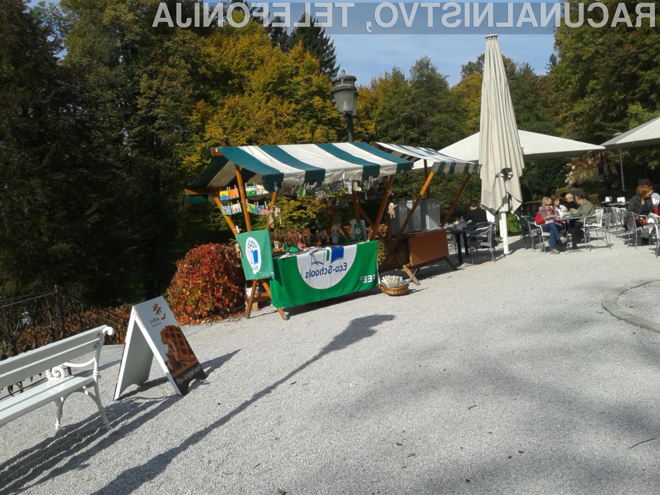 Pod okriljem marketinške agencije ESA je te dni v Ljubljani potekalo prvo Jesensko ekošportanje.