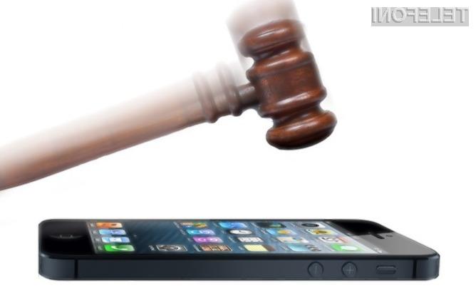 Samsung je trdno prepričan, da mu bo uspelo ustaviti prodajo mobilnika iPhone 5.