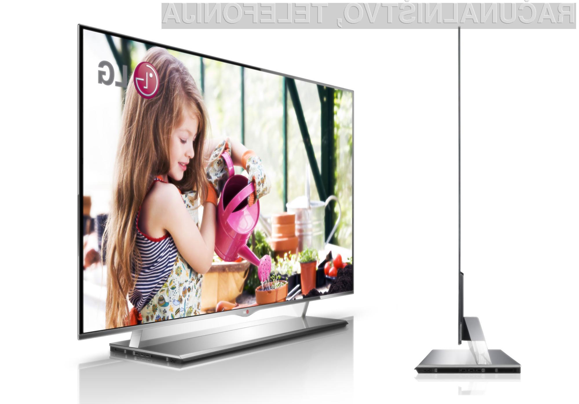 Televizorji v naših domovih so danes opazno večji kot pred leti.