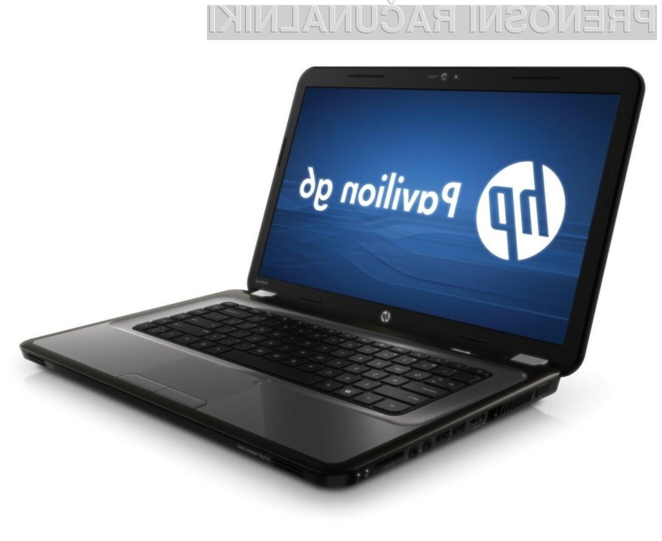 Za HP-jev Pavilion g6-1d21dx bo potrebno odšteti zgolj 270 evrov.