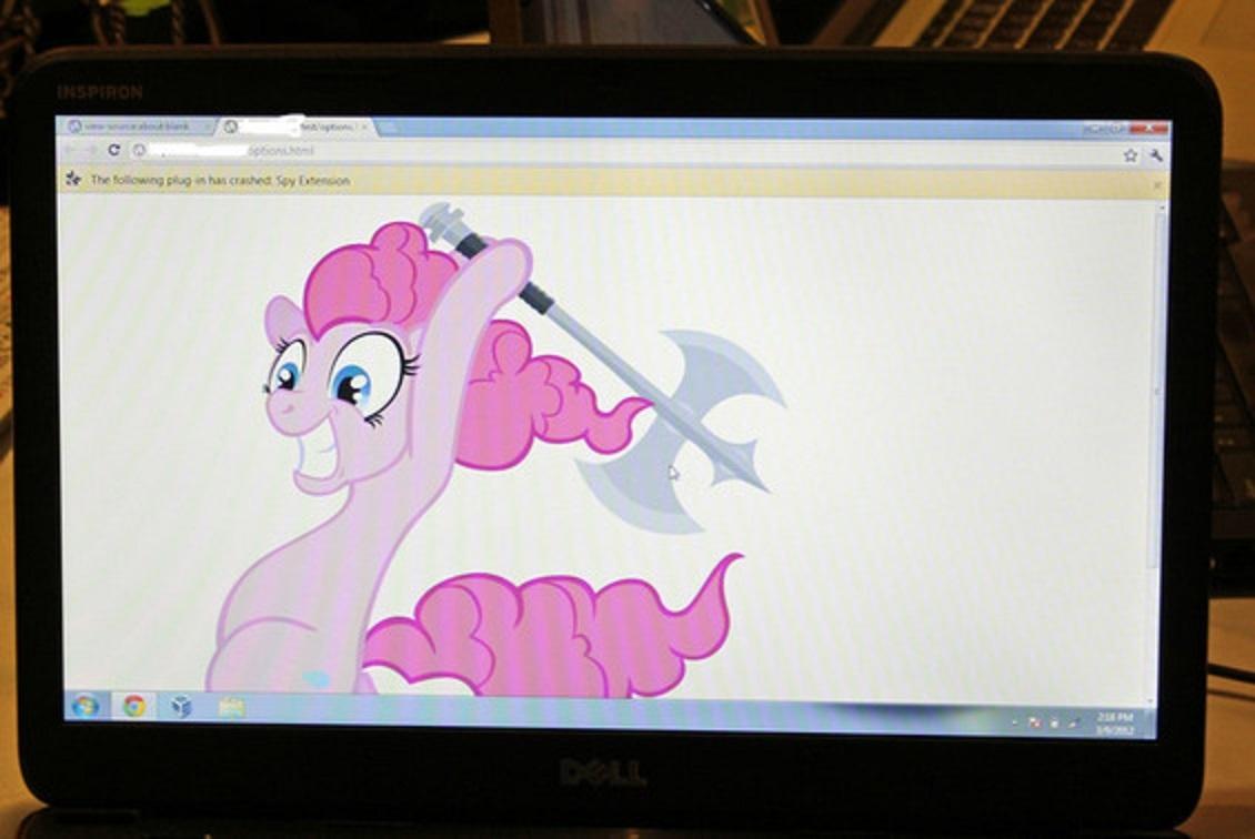 Za še varnejši spletni brskalnik Google Chrome se moramo uporabniki zahvaliti najstniškemu hekerju s psevdonim Pinkie Pie.
