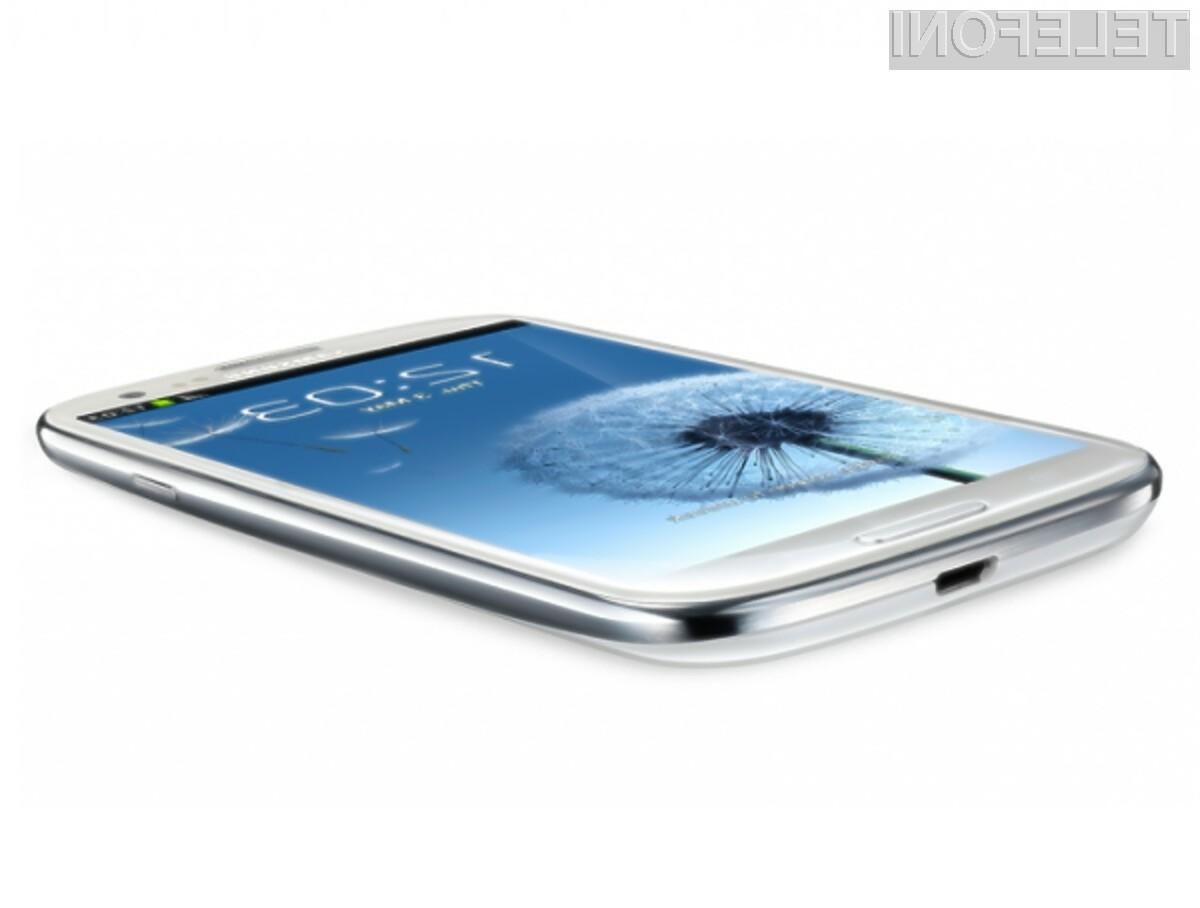 Pametni mobilni telefon Samsung Galaxy S3 Mini naj bi bil cenovno precej bolj dostopen od iPhona 5.