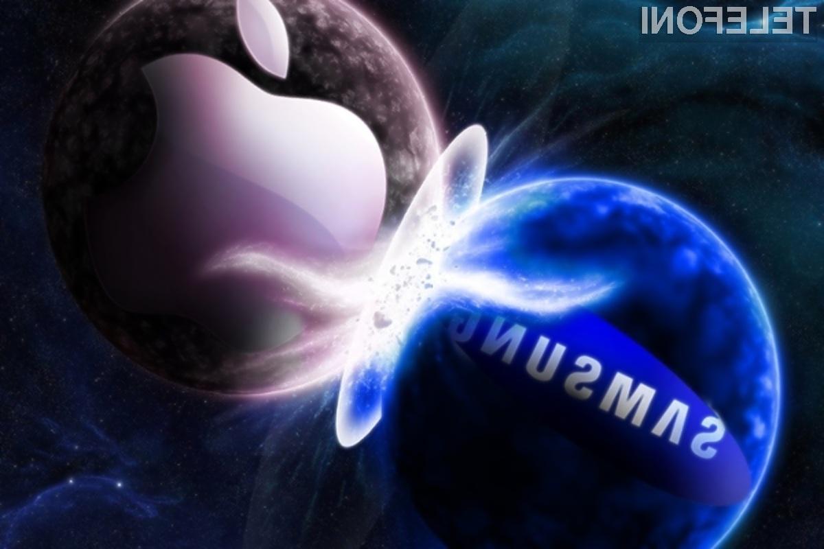 Apple in Samsung verjetno ne poznata reka, da kjer se prepirata dva, tretji (konkurenca) dobiček ima.