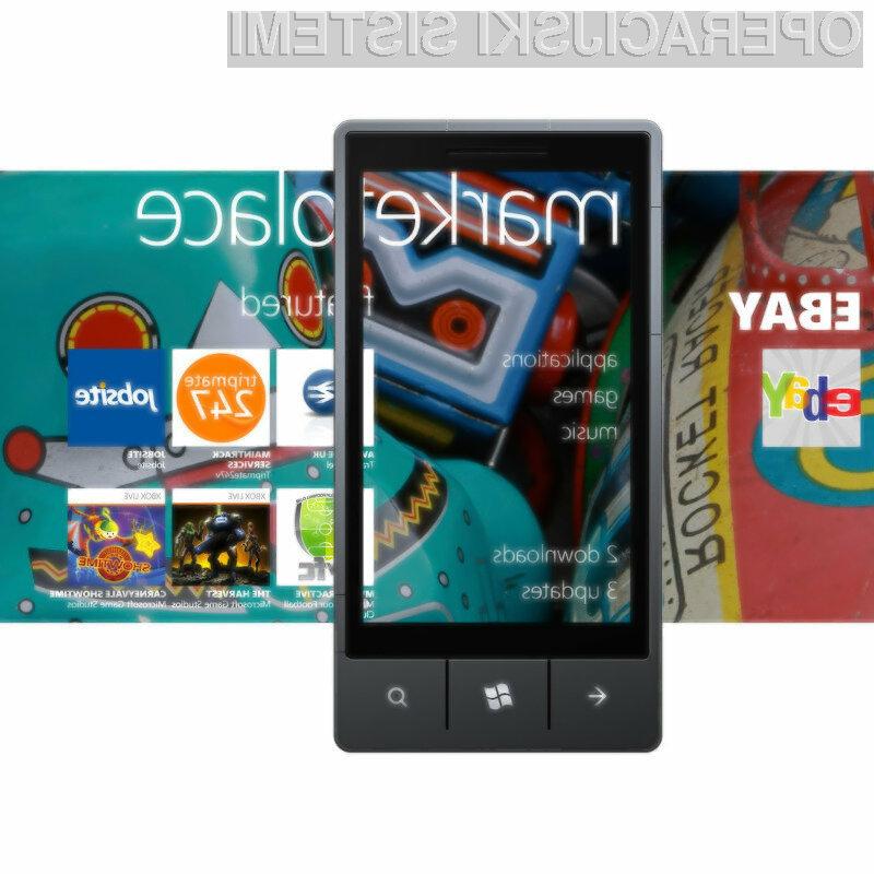 Microsoft je lahko zadovoljen z rastjo števila aplikacij za njegov operacijski sistem Windows Phone.