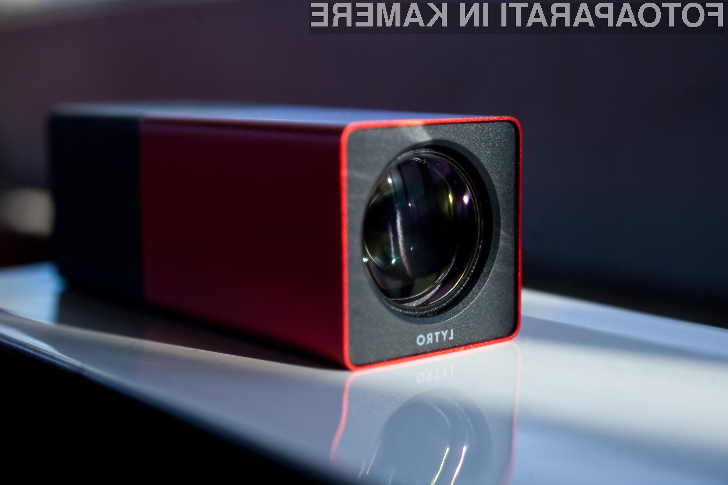Revolucionarna kamera Lytro bo odslej omogočala tudi sprotno spreminjanje perspektive.