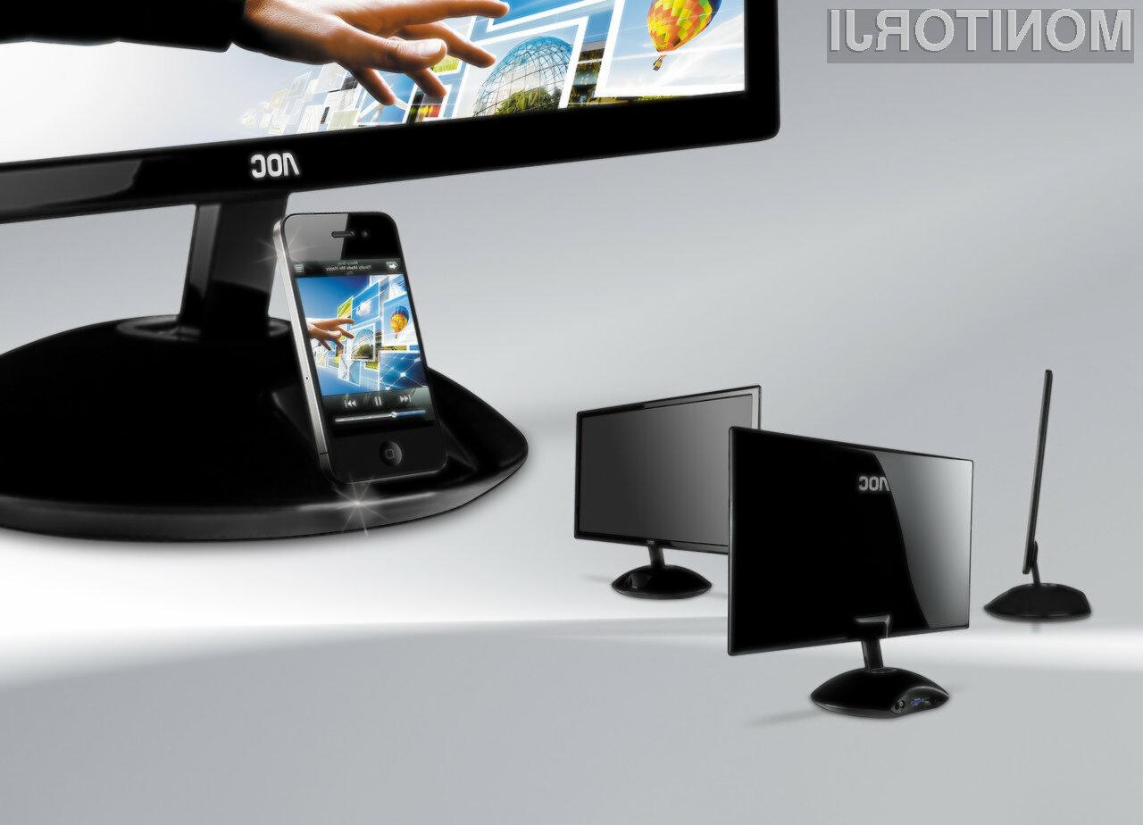 S pomočjo AOC zaslona e2343Fi, lahko za sliko iz iPhona močno povečamo.