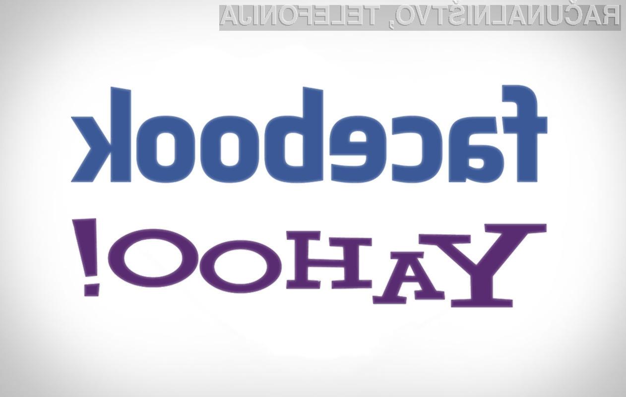 Bosta Facebook in Yahoo pokopala Google?