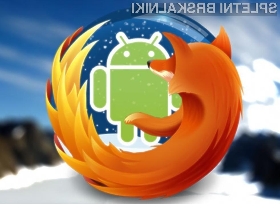 Prenovljeni mobilni spletni brskalnik Mozilla Firefox lahko namestimo celo na Android 2.2.