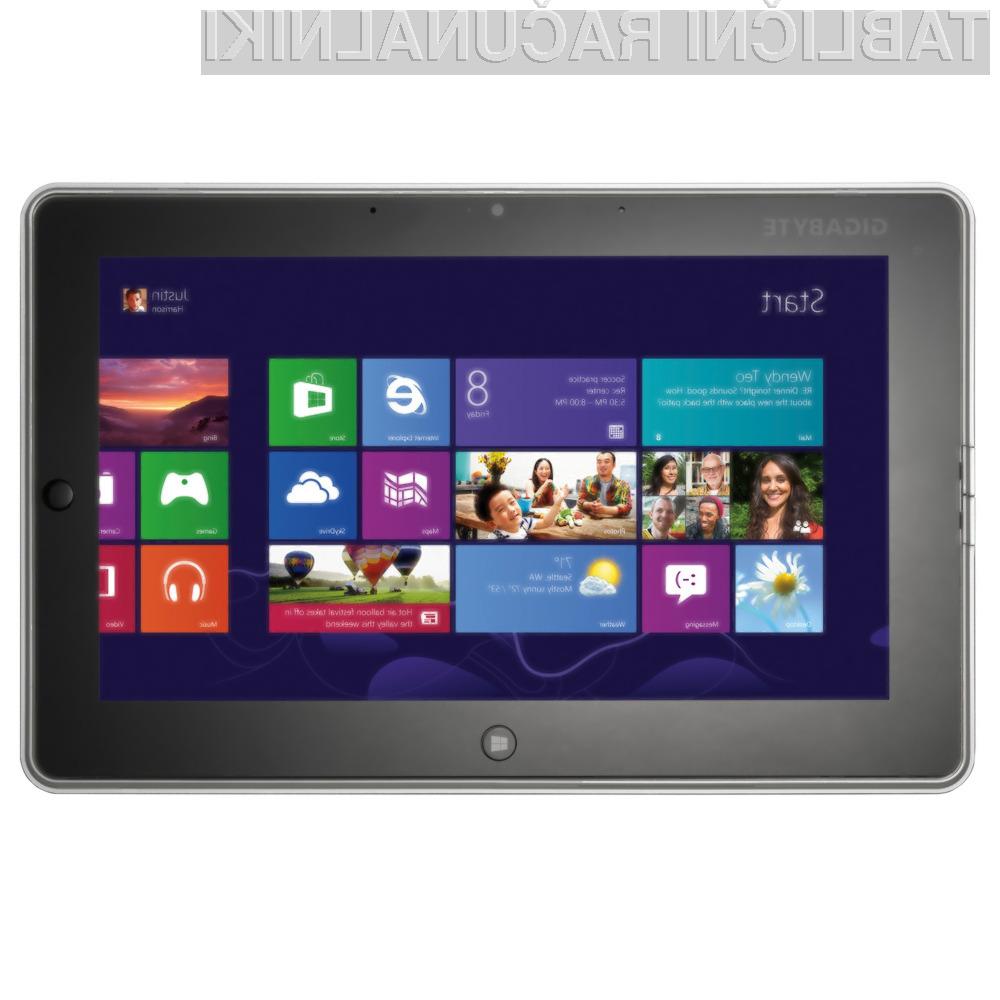 V poplavi tablic in prenosnikov z operacijskim sistemom Windows 8, se je znašel tudi Gigabytov model S1082.