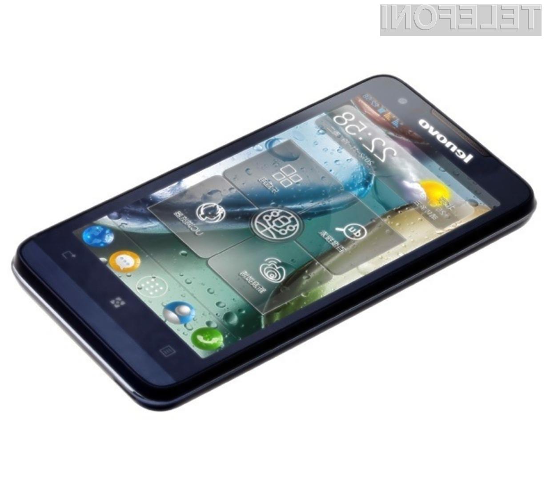 Z mobilnikom Lenovo P770 bomo brez polnjenja lahko opravili do 39 ur pogovorov!