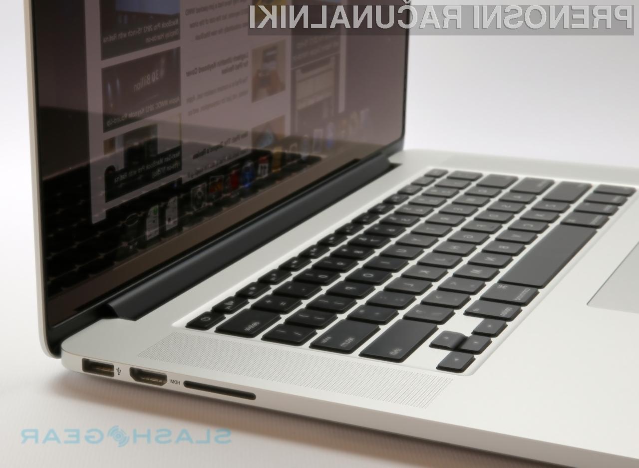 Posodobitev strojne kode EFI zmanjša tako procesorsko kot grafično zmogljivost prenosnika MacBook Pro.