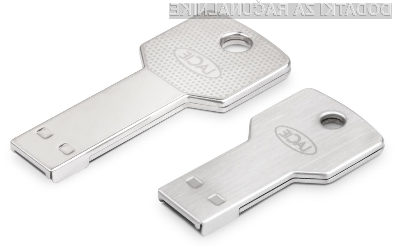 PetiteKey bomo lahko kaj hitro zamenjali s povsem običajnih ključem za vhodna vrata.