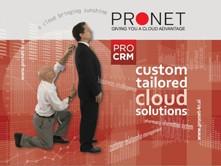 Na seminarju bo svojo rešitev ProCRM predstavilo tudi podjetje PRONET Kranj d.o.o.