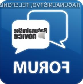 Po nasvete na prenovljeni forum Računalniških novic