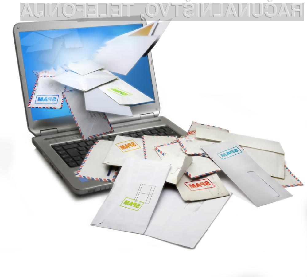 Podatki Kaspersky Laba pričajo o tem, da je delež nezaželene pošte pri pošiljanju elektronske pošte skozi leto 2012 enakomerno upadal in dosegel najnižjo stopnjo v zadnjih petih letih.