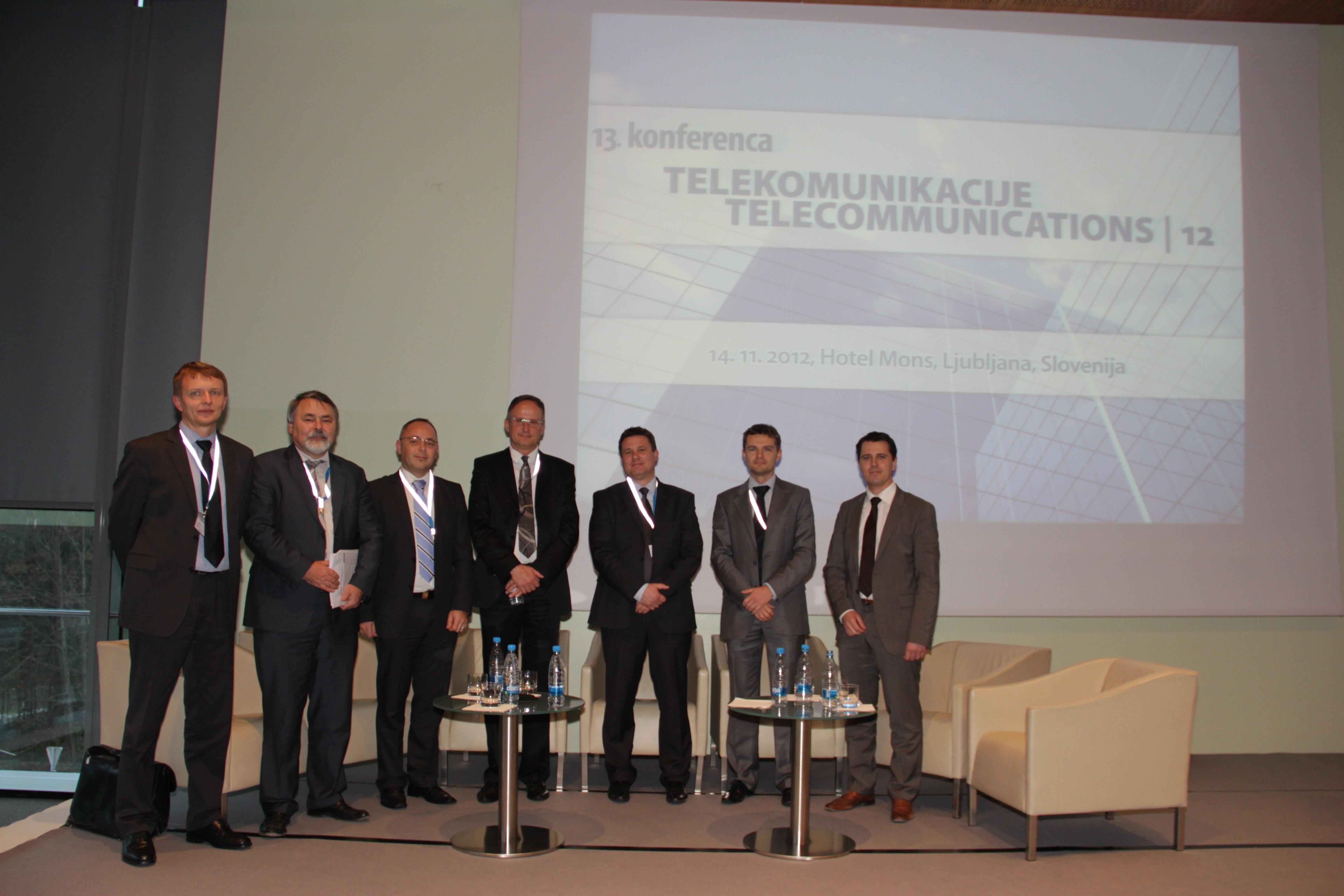 V Ljubljani je potekala že trinajsta konferenca Telekomunikacije 2012