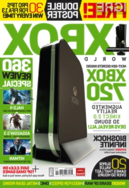 Na igralni konzoli Xbox 720 naj ne bi bilo mogoče igrati rabljenih iger!