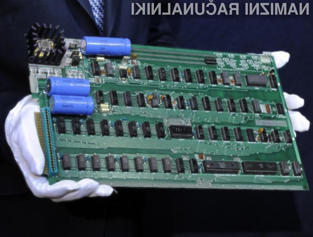 Pol milijona evrov vreden Applov računalnik