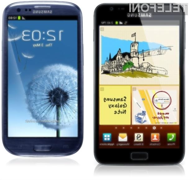 Uporabniki pametnih mobilnikov Galaxy S3 in Galaxy Note 2 morajo biti pri nameščanju »sumljive« programske opreme še posebno previdni!