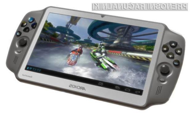 Prenosna igralna konzola Archos Gamepad ponuja izvrstne igričarske izkušnje.
