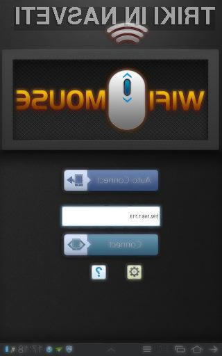 Prelevimo mobilnik Android v brezžično računalniško miško