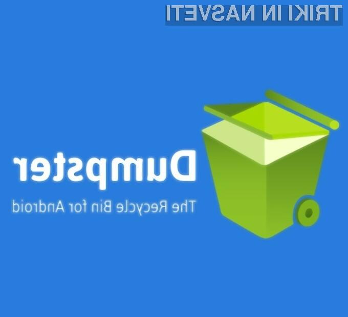 Koš za izbrisane datoteke za Android
