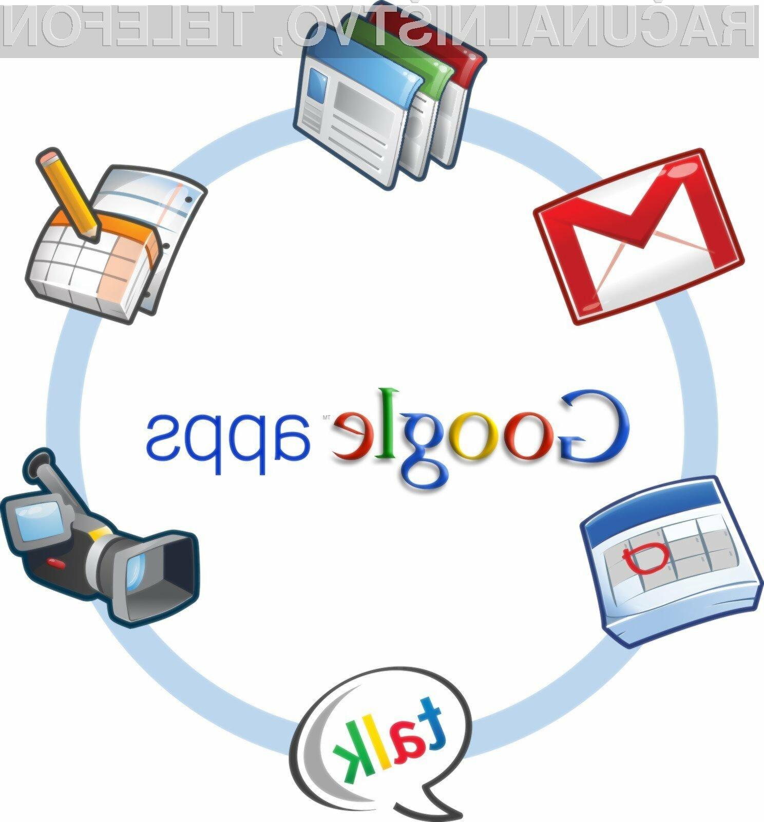 Spletne aplikacije Google Apps za nove uporabnike niso več brezplačne!