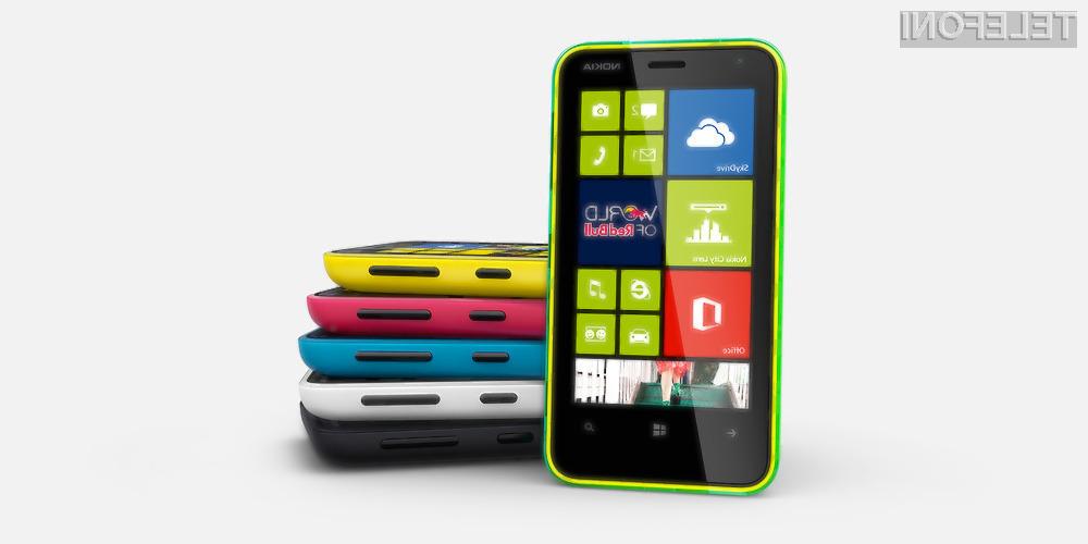 Pametni mobilni telefon Nokia Lumia 620 je povsem pisan na kožo mladim!